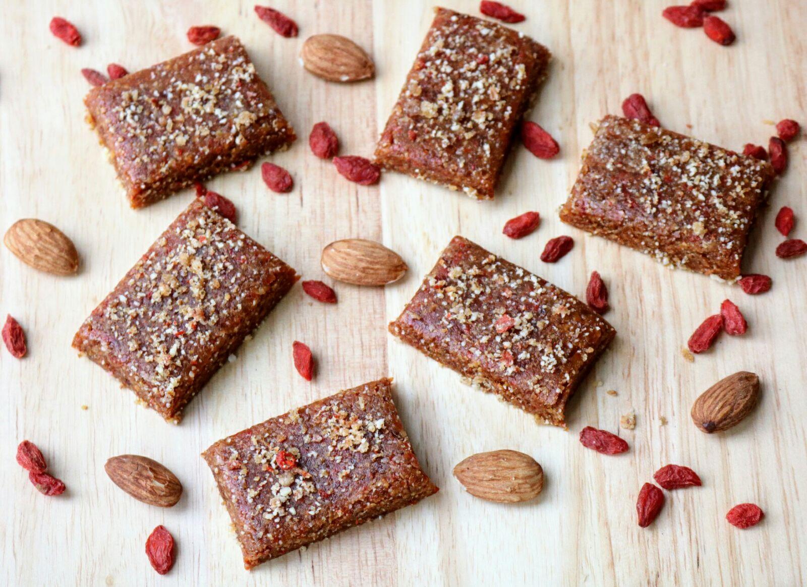 Almond & Goji Berry Protein Bites
