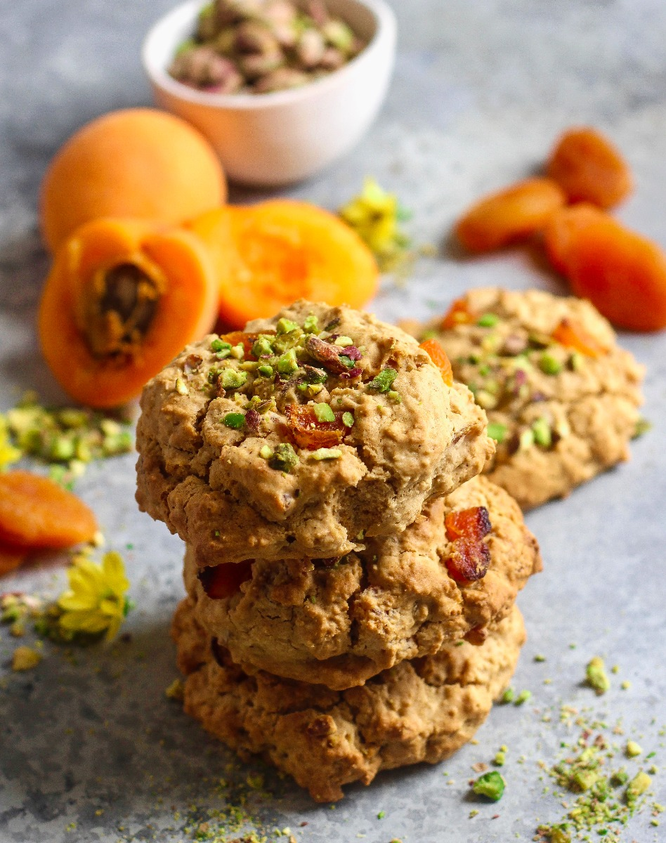 Apricot & Pistachio Cookies