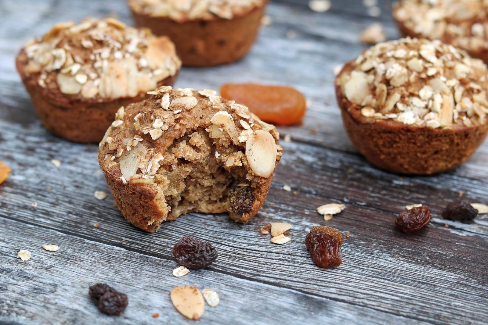 Dried Fruit Muffins - Vegan