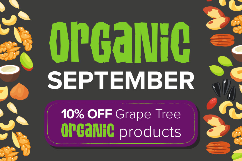 Grape Tree Organic September