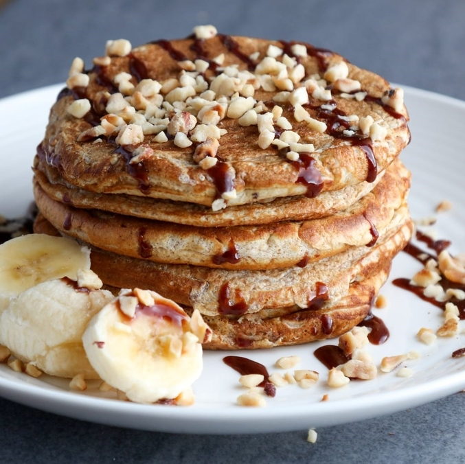 Healthy Spelt Pancakes