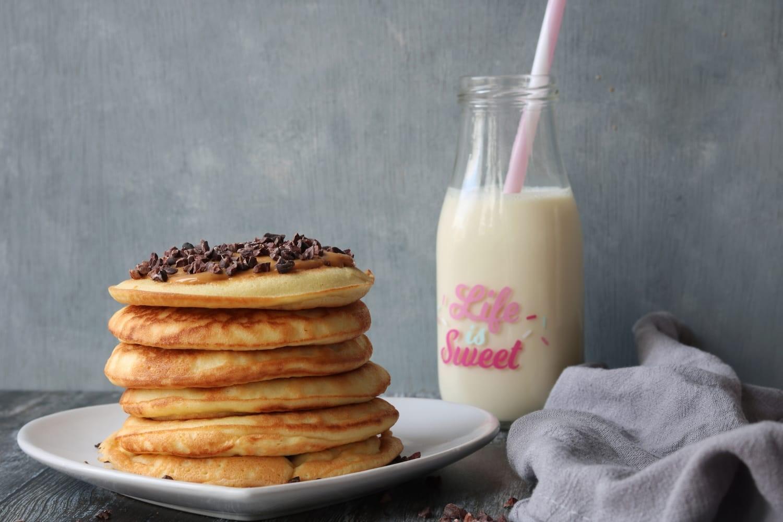 Keto Low Crab Fluffy Pancakes