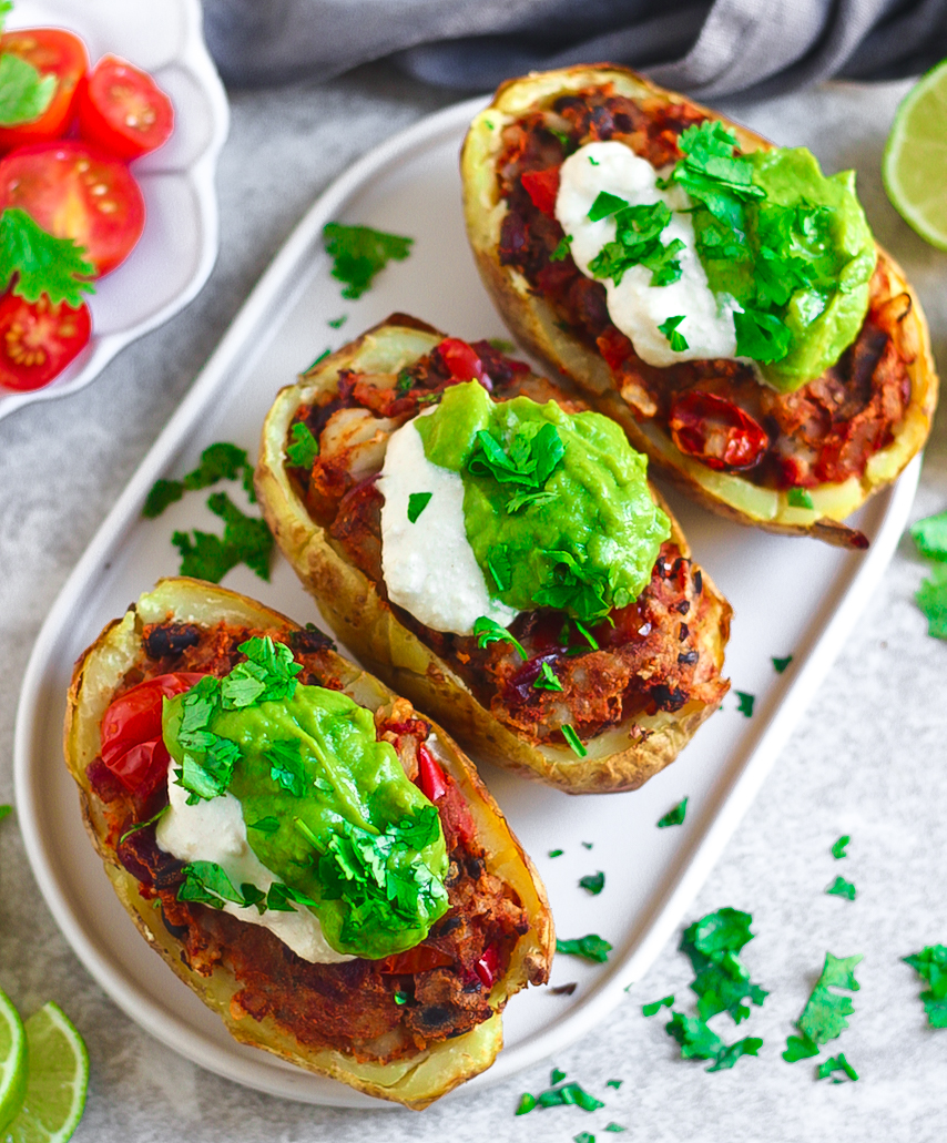 Fajita Potato Skins