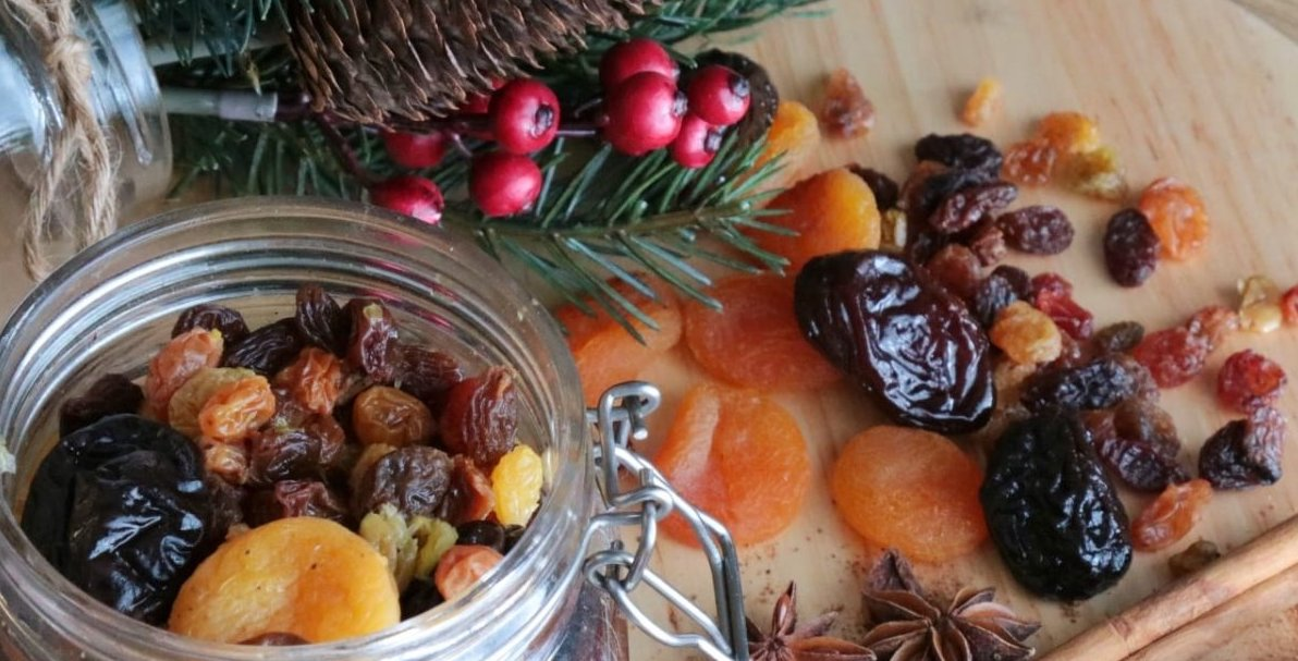 Winter Spiced Compote