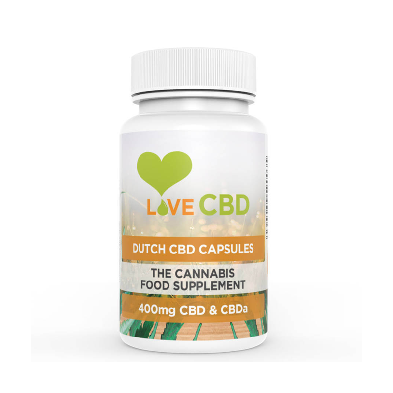 Love CBD 400mg Dutch Capsules 80 x 5mg