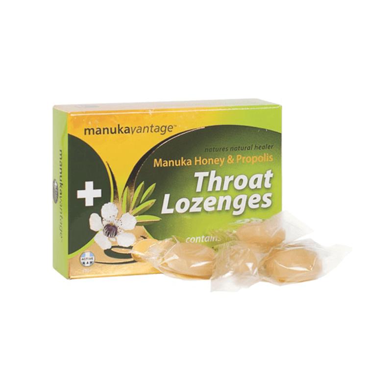 Manuka Honey Throat Lozenges 16 pack